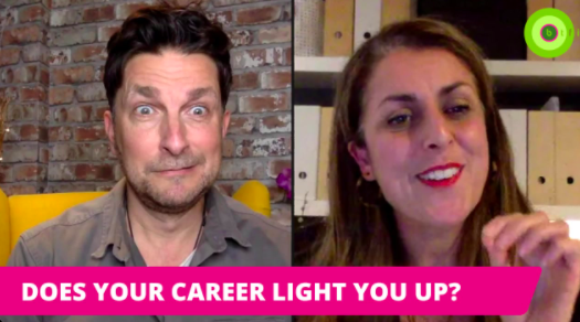 DOES YOUR CAREER LIGHT YOU UP?