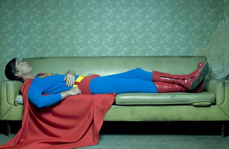 EVEN SUPERHERO'S NEED A REST